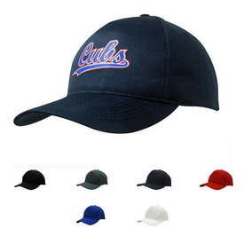 Budget Cotton 5 Panel Baseball Cap